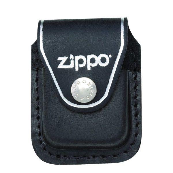 Bao da đựng Zippo cao cấp đen