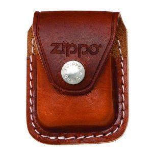 Bao da đựng Zippo cao cấp nâu