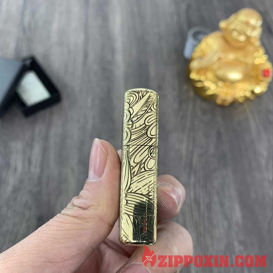 Hộp quẹt Zippo 12 con giáp tuổi Mùi - ZP1204 3