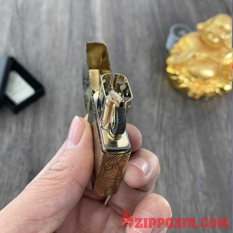 Bật lửa Zippo 12 con giáp tuổi Tị - ZP1209 7