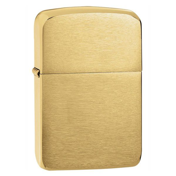 bat-lua-zippo-brushed-brass-replica-1941B-vang1