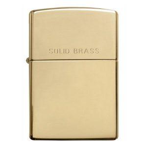 Bật lửa zippo Solid Brass 254