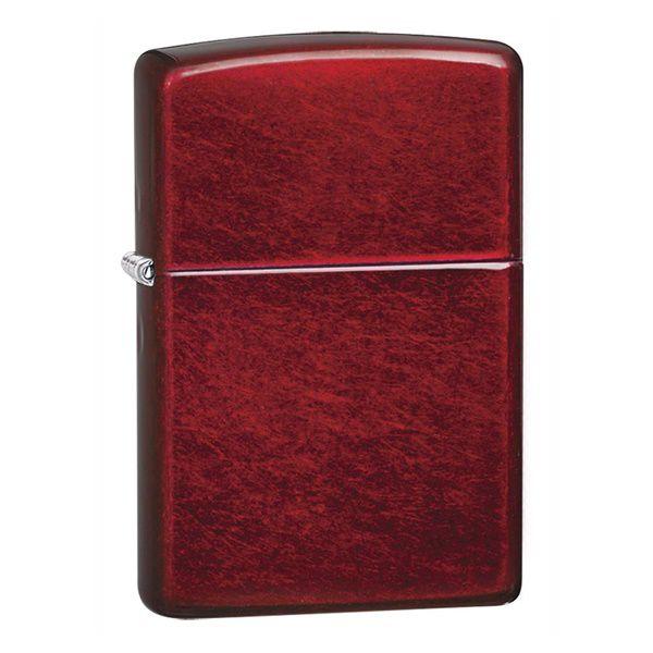 Bật lửa Zippo sơn tĩnh điện bóng Candy apple red 21063