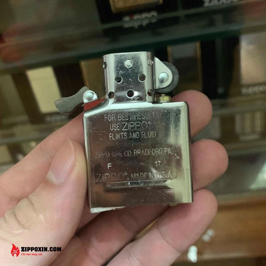Bật lửa Zippo ốp hình phật tổ mạ bạc cao cấp ZBT-2-20A-6