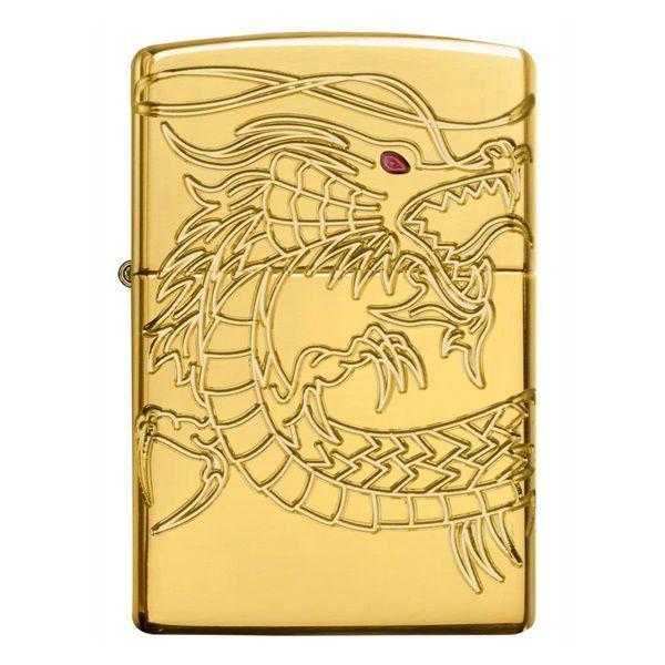 Bật lửa zippo rồng vàng Asian Dragon 29265