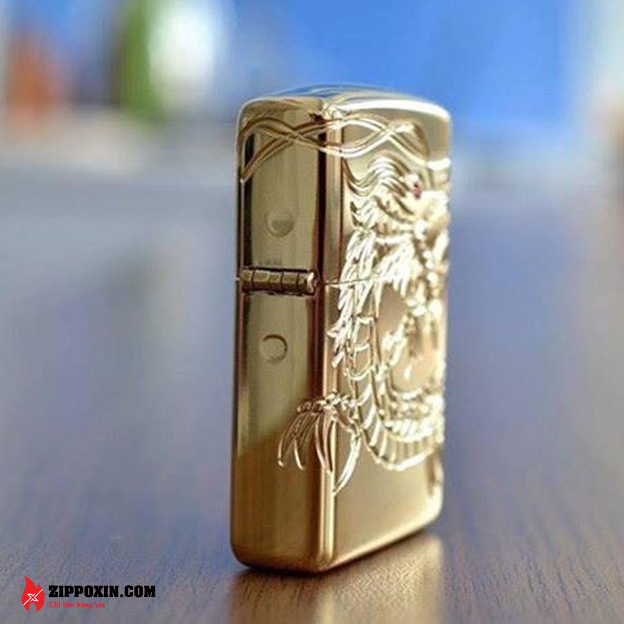 Bật lửa zippo rồng vàng Asian Dragon 29265-6