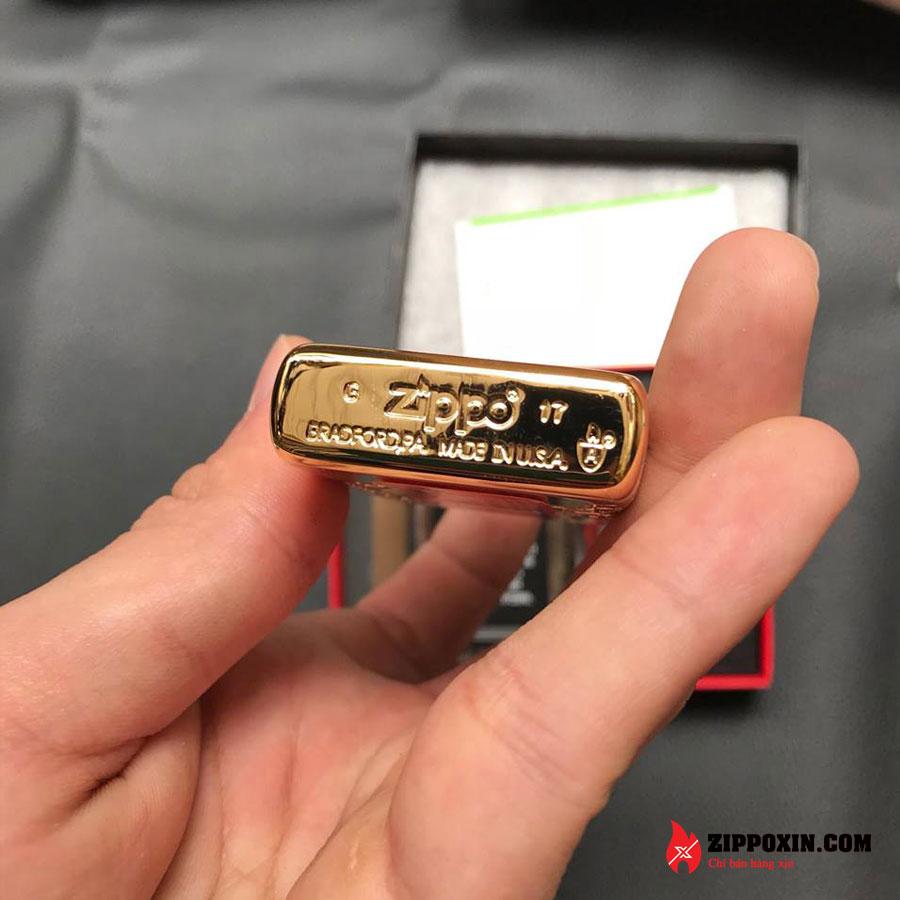 Bật lửa zippo rồng vàng Asian Dragon 29265-7
