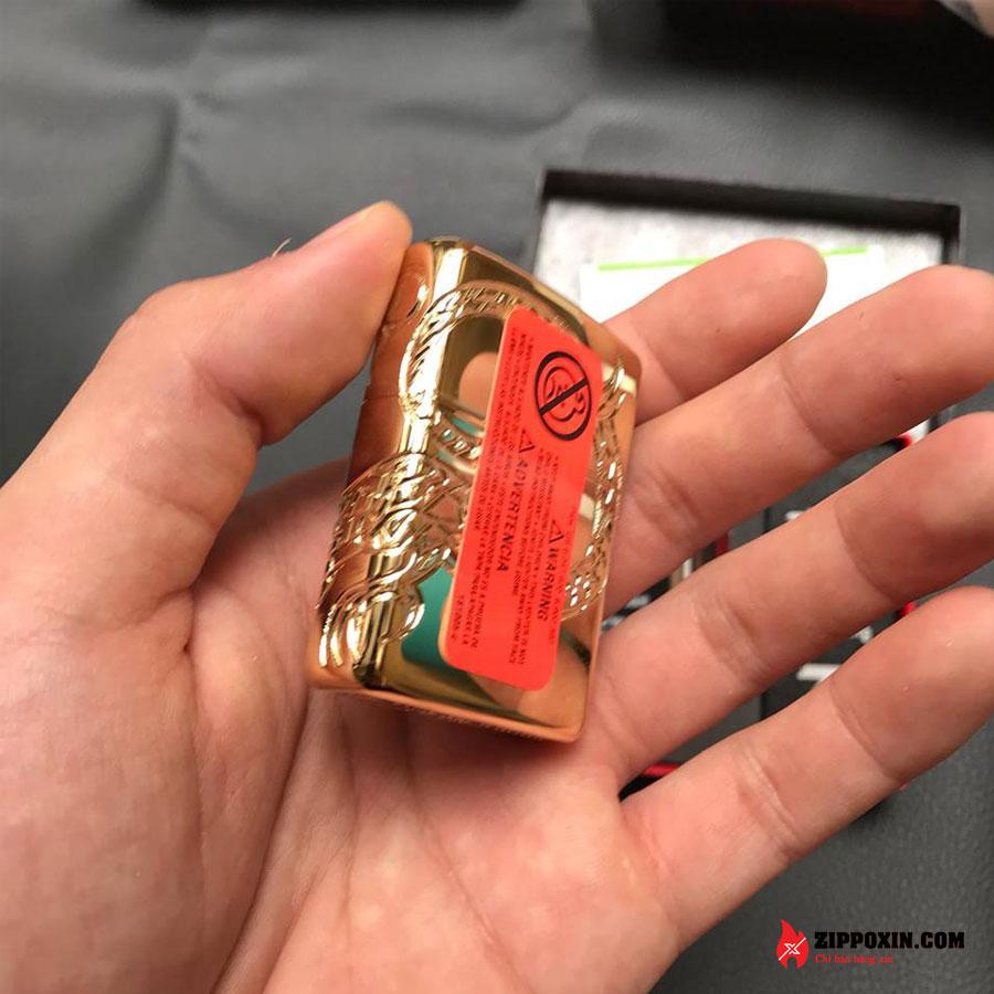 Bật lửa zippo rồng vàng Asian Dragon 29265-9