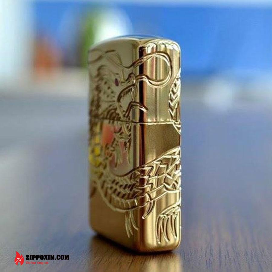 Bật lửa zippo rồng vàng Asian Dragon 29265-2