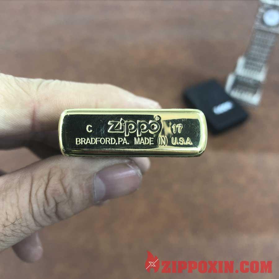 Bật lửa Zippo vỏ dày Long Phụng Xum Vầy - ZP26 5