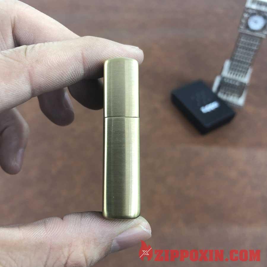 Bật lửa Zippo vỏ đồng khắc hình tướng Quan Vũ - ZP20 5
