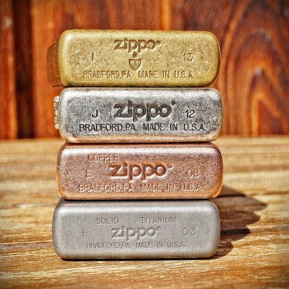 Cách đọc mộc đáy Zippo và cách nhận biết năm sản xuất Zippo 7