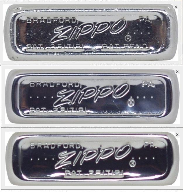 Cách đọc mộc đáy Zippo và cách nhận biết năm sản xuất Zippo 6