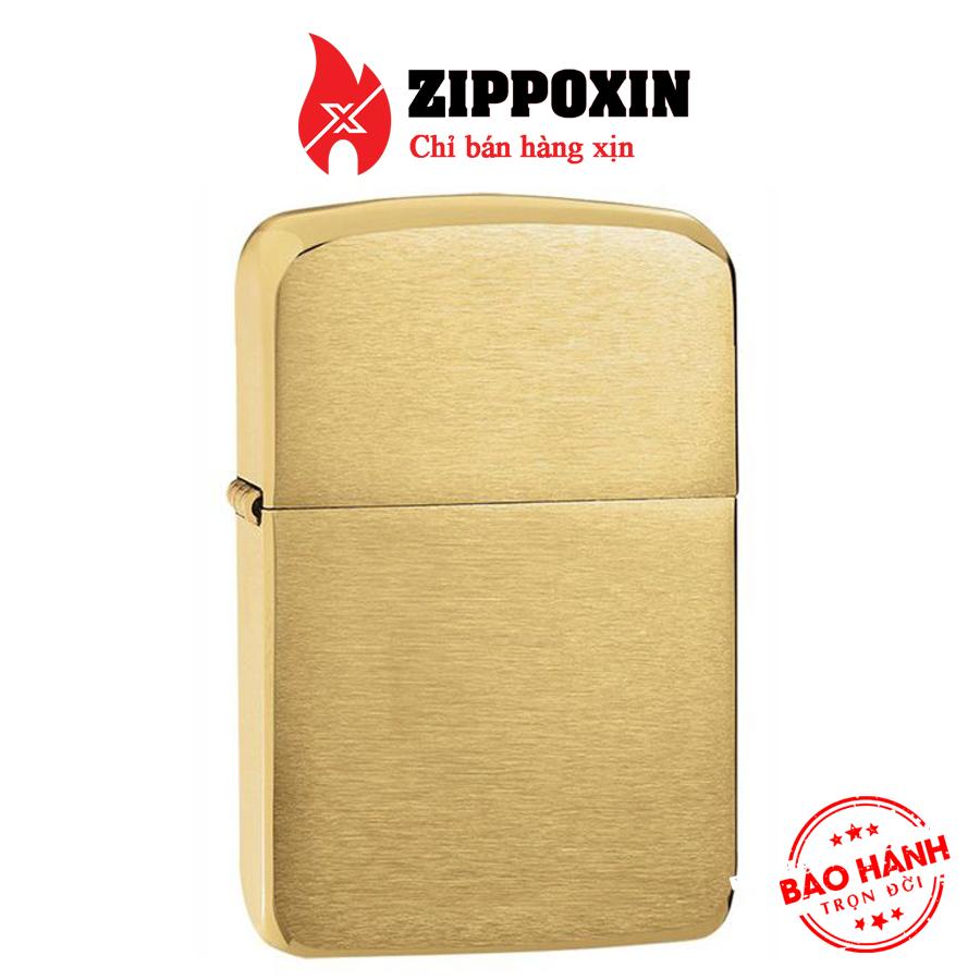https://zippoxin.com/wp-content/uploads/2019/04/bat-lua-zippo-brushed-brass-replica-1941B-vang1.jpg