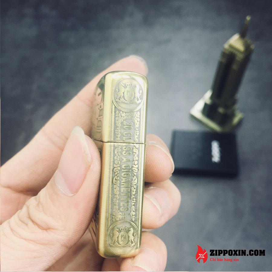 Bật lửa Zippo họa tiết hoa văn Marlboro ZP-MA3-4
