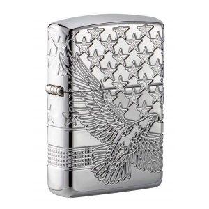Bật lửa Zippo vỏ dày Zippo Patriotic Design 49027
