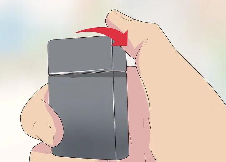 5 cách hướng dẫn biểu diễn Zippo trick cơ bản 3