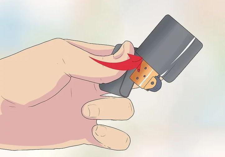 5 cách hướng dẫn biểu diễn Zippo trick cơ bản 8