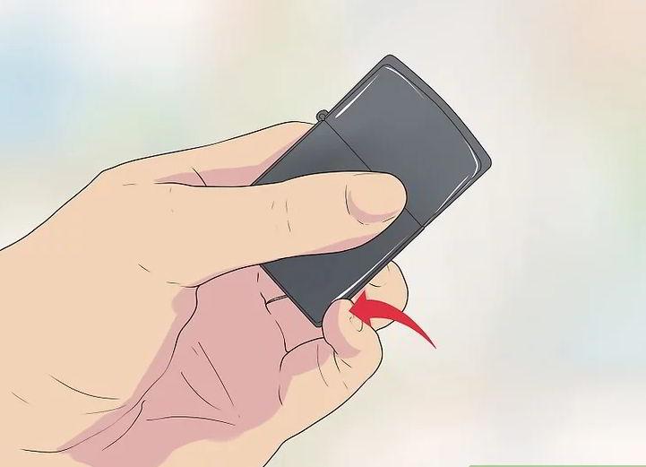 5 cách hướng dẫn biểu diễn Zippo trick cơ bản 16
